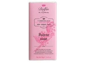 Dolfin Dark Chocolate with Pink Peppercorns