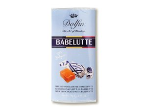 Dolfin Milk Chocolate with Babelutte from Bruges