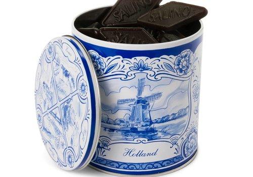Gift tin jar