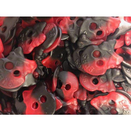 Bubs Drop frambozen skulls