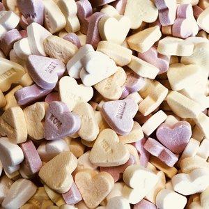 1kg Sugar hearts
