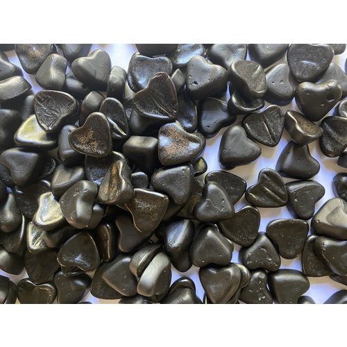 1kg Sugarfree licorice hearts