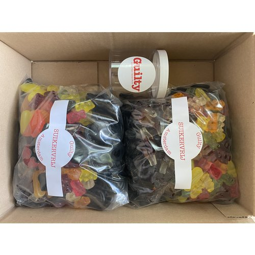 3kg Suikervrije Snoep Box