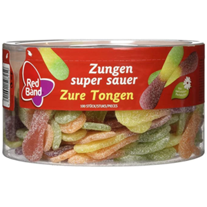 Red Band Red Band zure tongen