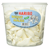 Haribo White mice