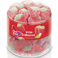 Red Band wild strawberries