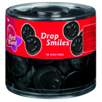 Red Band licorice smiles