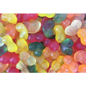 Matthijs 1kg Gummi Boobies