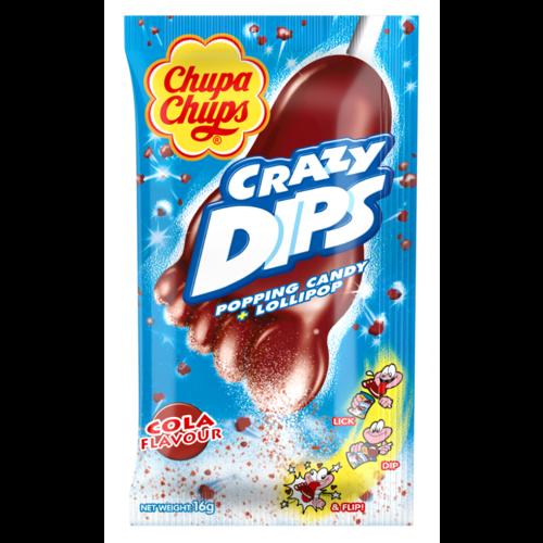 Chupa Chup 24x Crazy Dips Cola