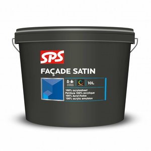 SPS Facade Satin Wit 10 Liter