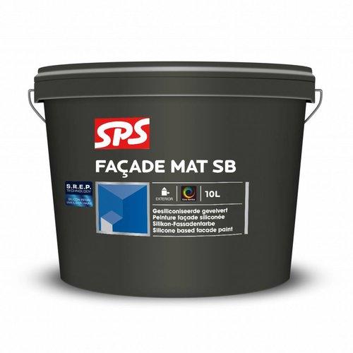 SPS Facade Mat SB Wit 10 Liter