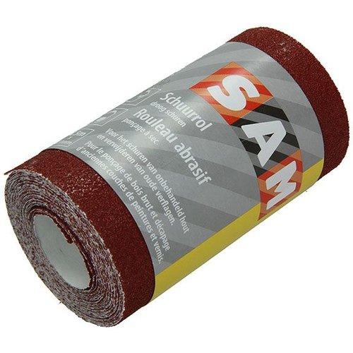 Sam Sam schuurpapier op rol 120mm x 4,5m 100