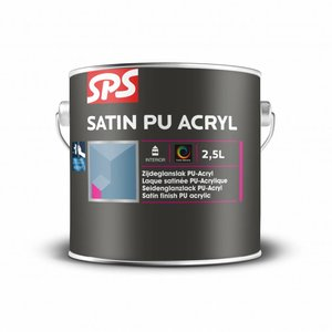 SPS Satin PU Acryl Kleur 1 Liter