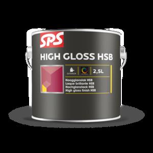 SPS High Gloss HSB  Wit 2,5 Liter