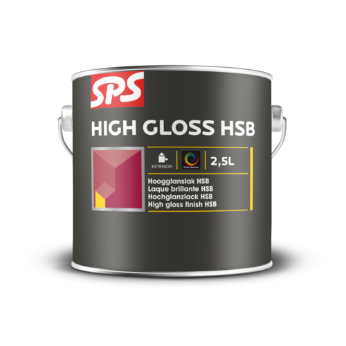 SPS High Gloss HSB  Wit 1 Liter