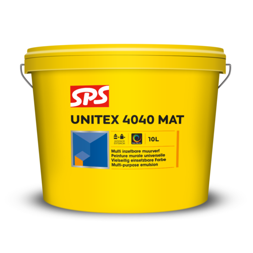 SPS Unitex 4040 Mat Kleur 1 Liter