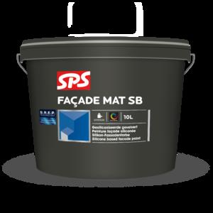 SPS Facade Mat SB 10 Liter Kleur (alleen lichte kleuren)