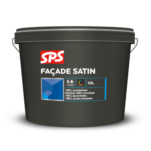 SPS Facade Satin  Kleur 4 Liter