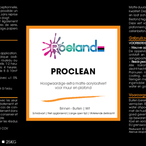 Roeland Roeland ProClean Extra Mat Wit 2.5 Liter