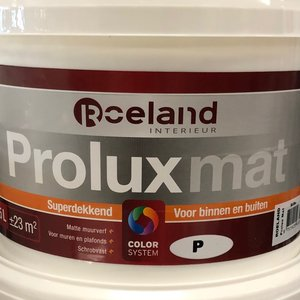 Roeland Prolux Mat Wit 2.5 Liter