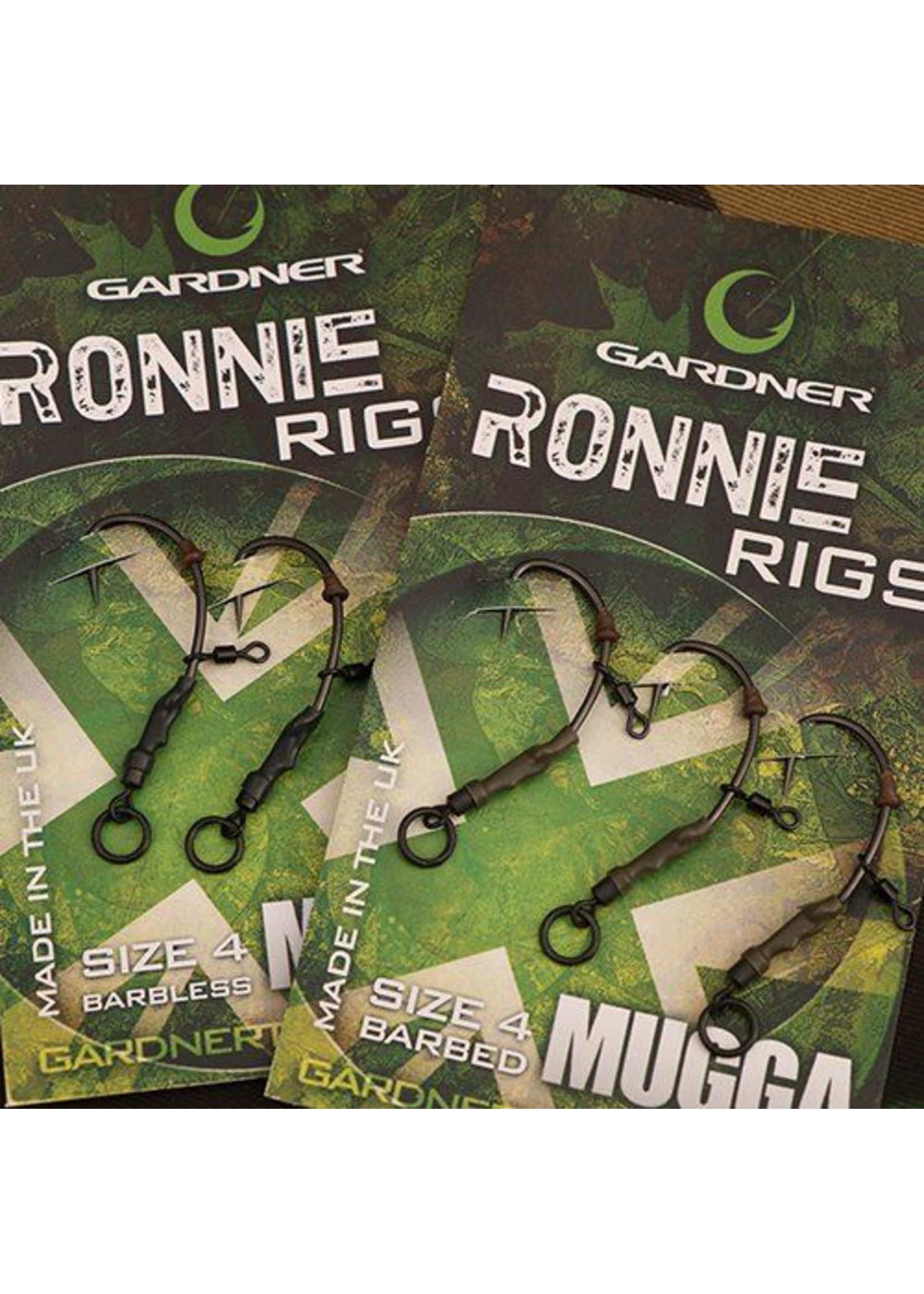Gardner Ronnie Rigs Size 4 Barbed