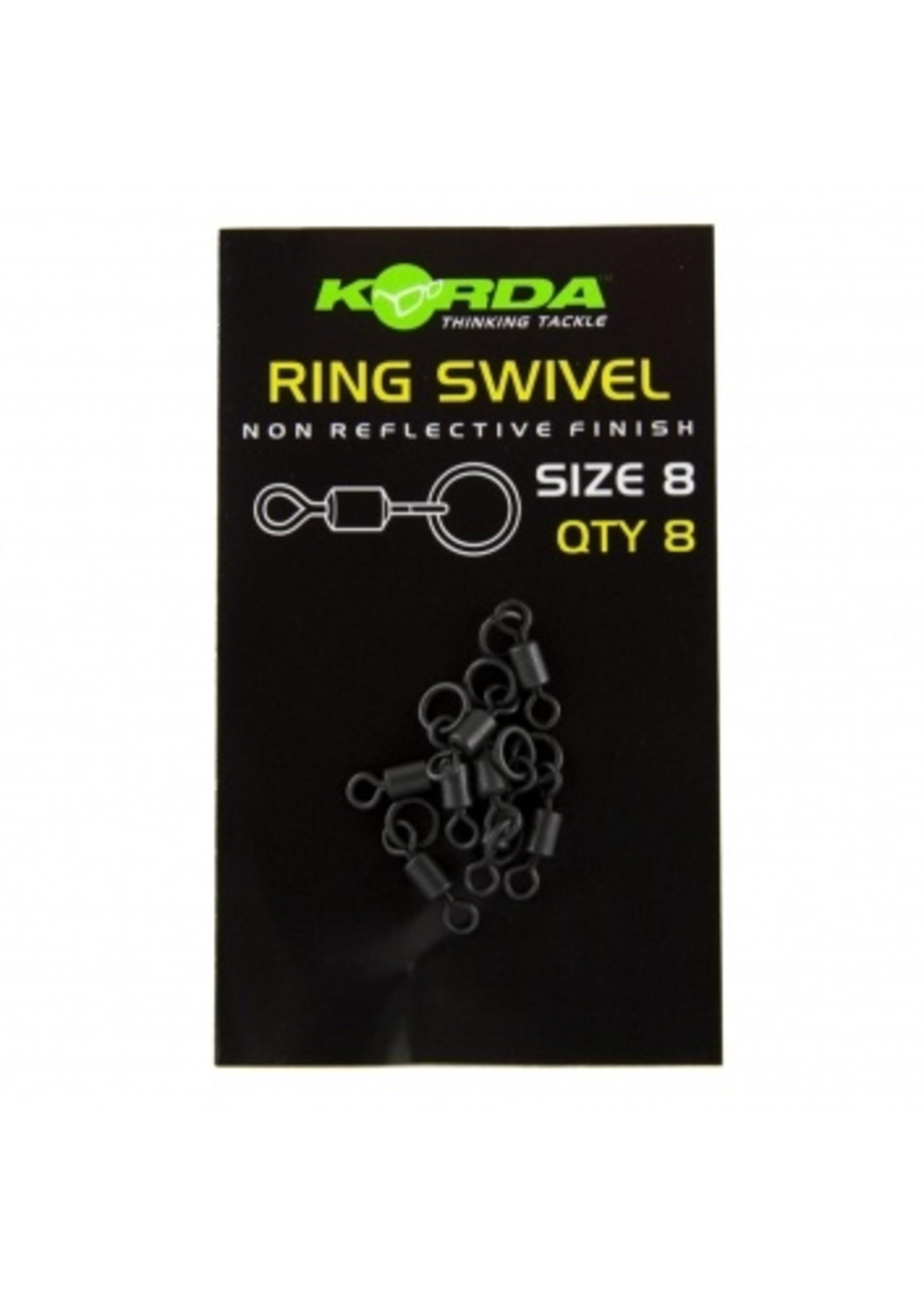 Korda Size 8 ring swivels 8st