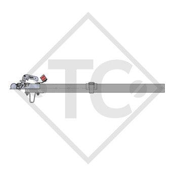 Zugdeichsel Typ R16, Ausf. A1 vierkant gerade bis 750kg