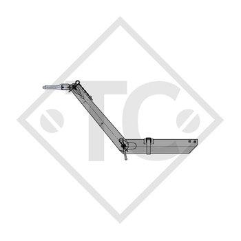Zugverbindung Zahnscheibe Typ 103 VB Ausf. G höhenverstellbar mit Deichselprofil bis 1000kg