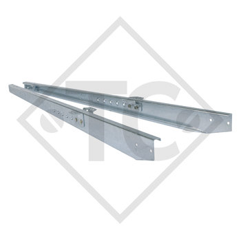 Towbar connection (pair) type 251T to 2800 kg