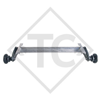 Unbreaked axle 1300kg BASIC axle type UBR 1200-5