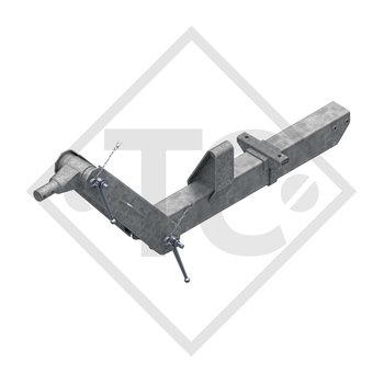 Timone regolabile in altezza tipo 353 VB vers. G per rimorchio con frenatura ad aria 3500kg
