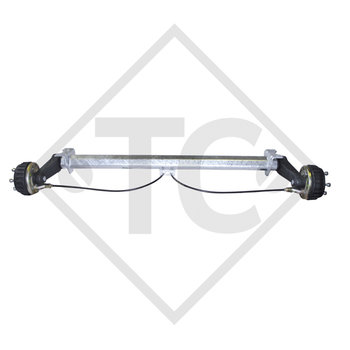 Braked tandem front axle 900kg BASIC axle type B 850-5