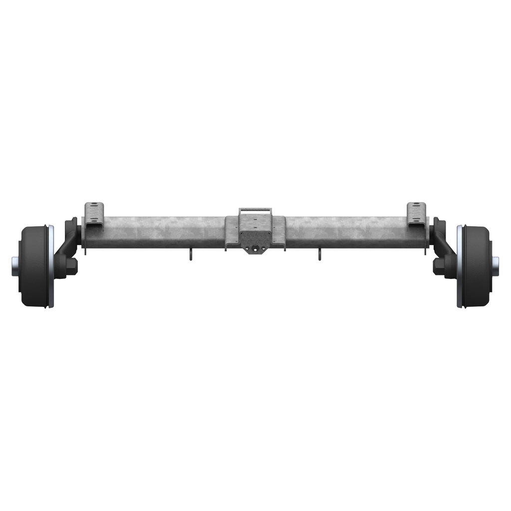 BRAKED AXLES FOR HYDRAULIC BRAKE FORCE TRANSMISSION 1600 / 1800 / 2500KG