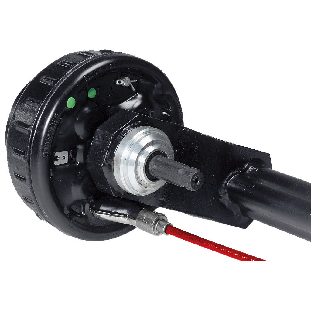 BRAKED AXLES WITH DRIVE SHAFT