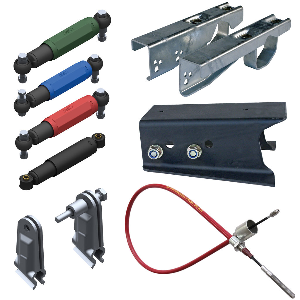 ACCESSORIES FOR BRAKED AXLES