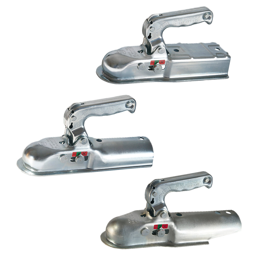 COUPLING HEADS FOR UNBRAKED TRAILERS