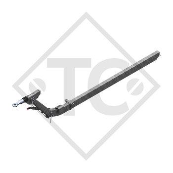 Auflaufeinrichtung höhenverstellbar 101 VB COMPACT mit Deichselprofil gekröpft 510 bis 1000kg