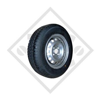 Rueda 145/80-10 S-255 con llanta 3.50x10