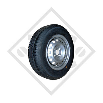 Wheel 5.00-10 Cargo B 61 with rim 3.50Bx10