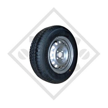 Wheel 145R10 CR-966 with rim 3.50Bx10