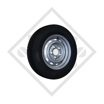 Wheel 155/70R12 TR603 with rim 4.50Jx12