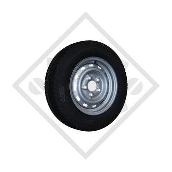 Wheel 155R12C IA with rim 4.50Jx12
