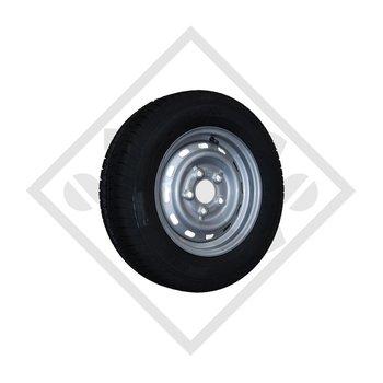 Wheel 185R14C FT02 M+S with rim 5.50x14