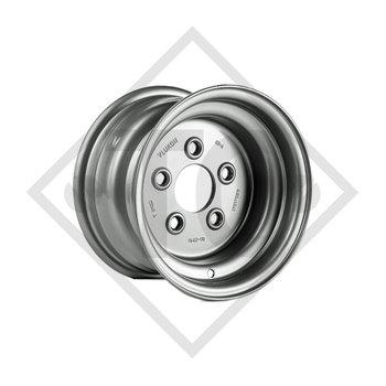 Anhänger Felge 6.00Ix10 H2, 5/67/112, ET -4