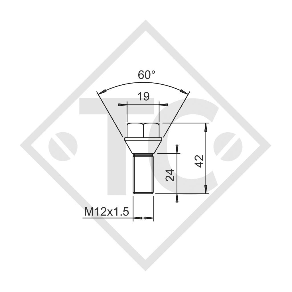 Original vis de roue coniques M12x1.5, kit 10 pièces