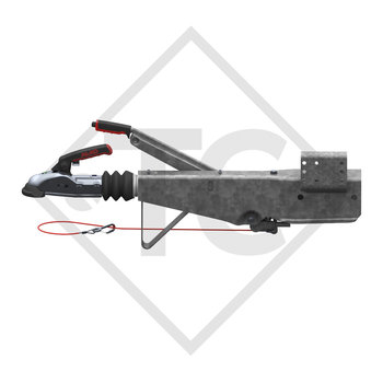 Overrun device square type 161S, 950 to 1600kg