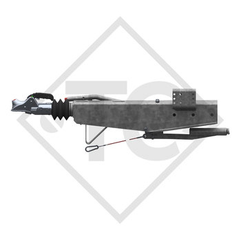 Overrun device square type 2.8VB/1, 2500 to 3500kg