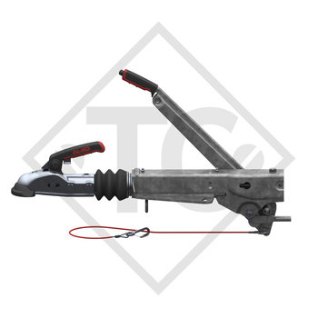 Overrun device V type 161S, 950 to 1600kg