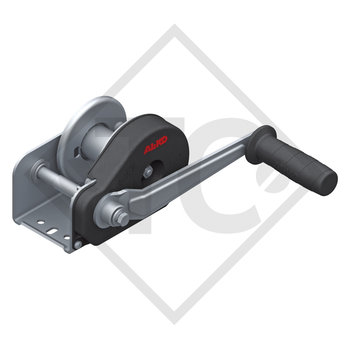 Cable winch PLUS 350kg, type 351 with automatic weight brake, without automatic unwinder, without cable/band