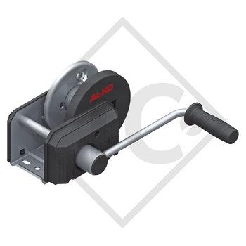 Seilwinde PLUS 500kg, Typ 501 mit automatischer Lastdruckbremse, ohne Abrollautomatik, ohne Seil/Band